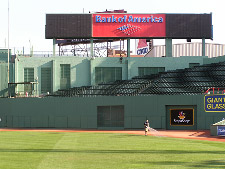 Fenway Park - Center Field Wall